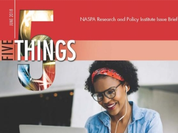 Five Things Student Affairs Professionals Can Do