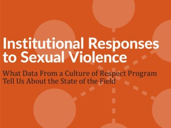 Institutional Responses to Sexual Violence