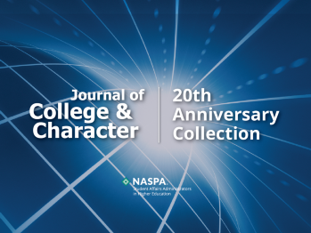 Journal of College and Character 20th Anniversary