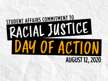 Logo for Student Affairs Commitment to Racial Justice: Day of Action