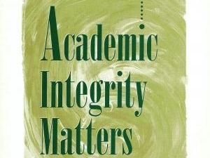 Academic Integrity Matters Book Cover