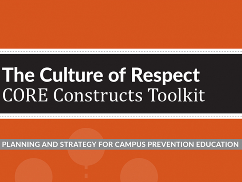 Culture of Respect CORE Constructs Toolkit