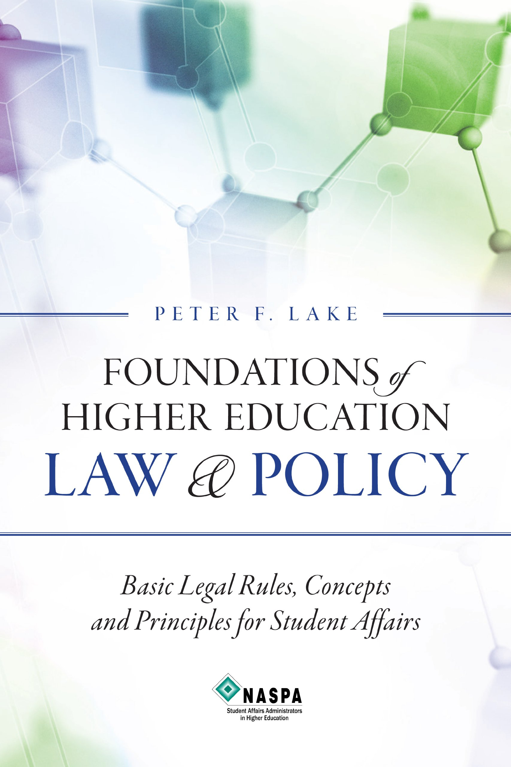 Foundations of Higher Education Law and Policy Cover