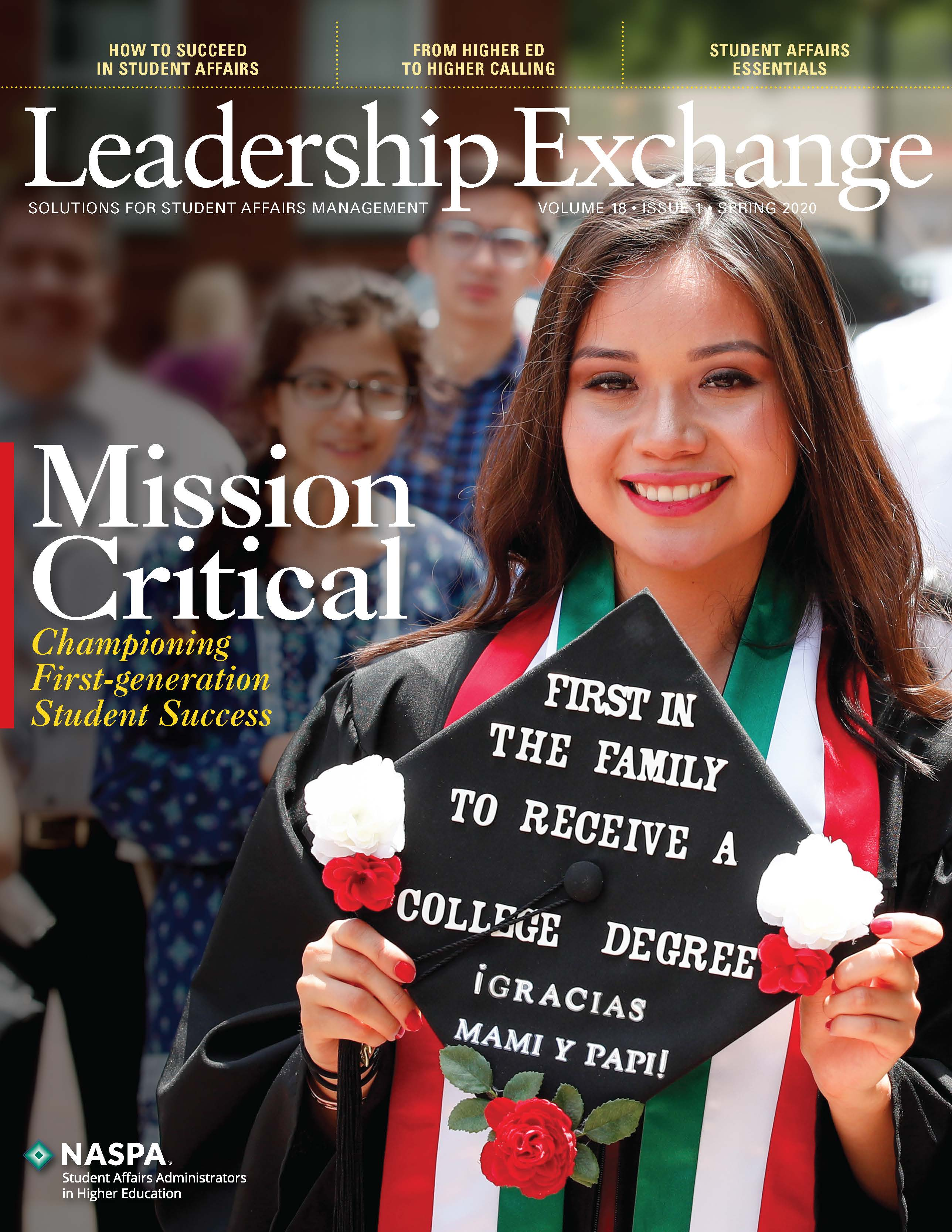 Leadership Exchange Spring 2020 Cover