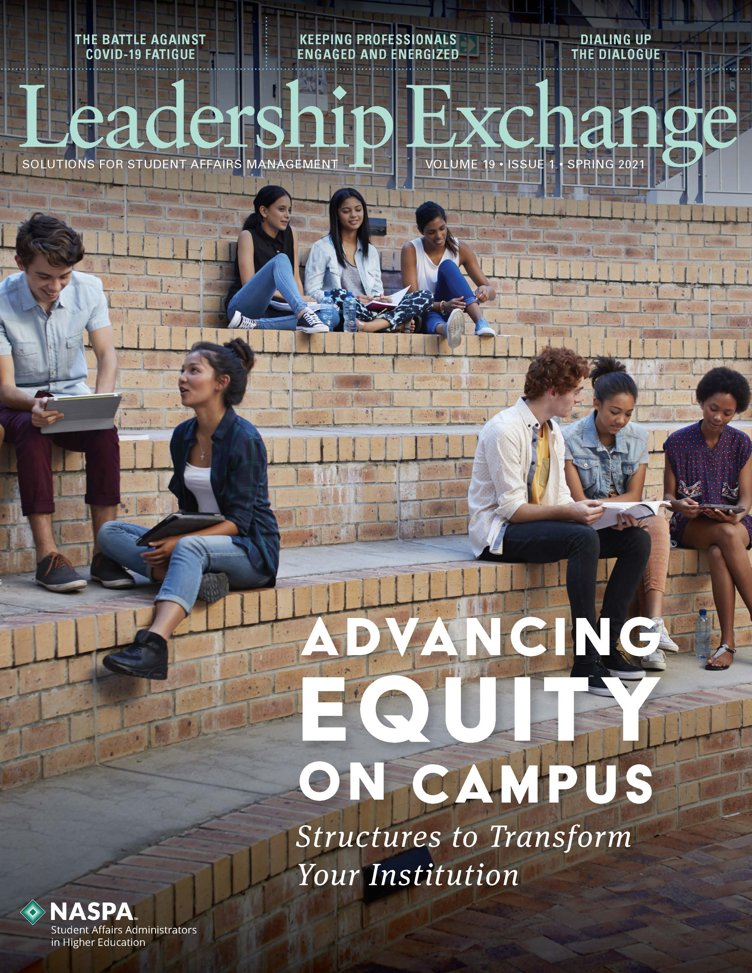 Leadership Exchange Spring 2021 Cover