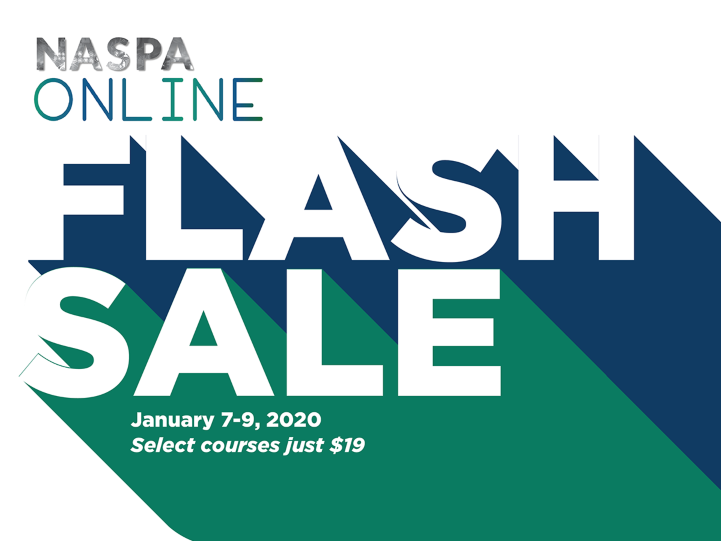NASPA Online 2020 Flash Sale