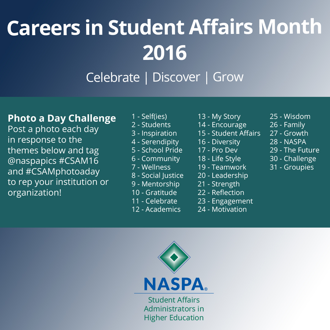 careers in student affairs month essay writing contest