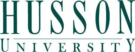 Husson University logo - NASPA LEAD participating institute