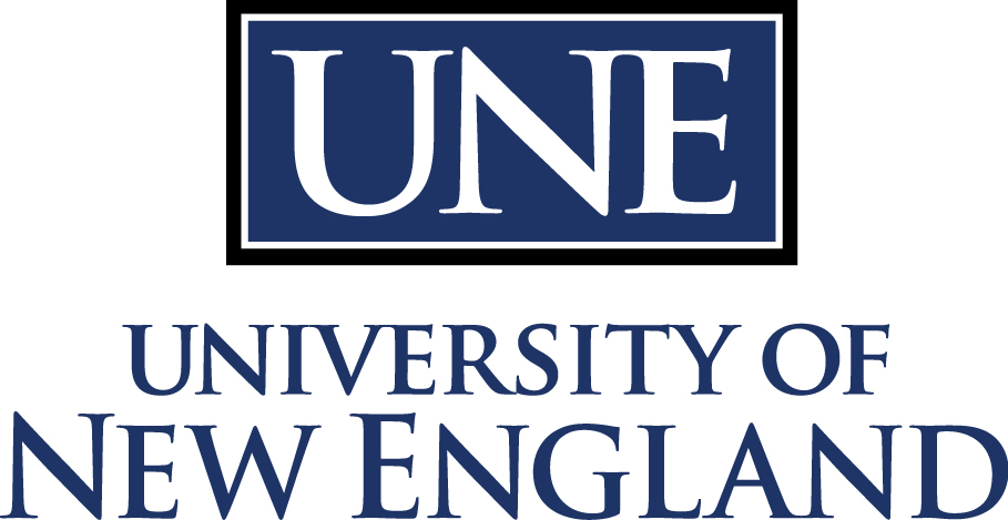 University of New England logo - NASPA LEAD participating institute